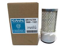 New OEM Kubota 70000-11221 AIR FILTER Grasshopper 100940 John Deere M75144