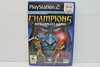 Champions: Return to Arms (Sony PlayStation 2, 2005) AUS PAL - Free Postage