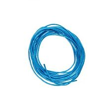 Satin Bugtail Cord Dark Turquoise 1.5mm. Section of 5 meters / 5.4 Yards