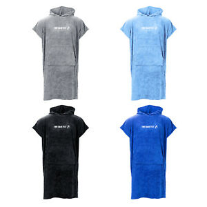 Two Bare Feet Adults Towelling Changing Robe - Surf Poncho Towel for Swimming
