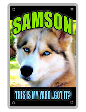 PERSONALIZED PET SIGN YOUR PHOTO/TEXT ALUMINUM FULL COLOR CUSTOM ART PANEL 5