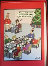 Pants Taken Out Funny Tim Whyatt Box 12 Christmas Cards American Greetings