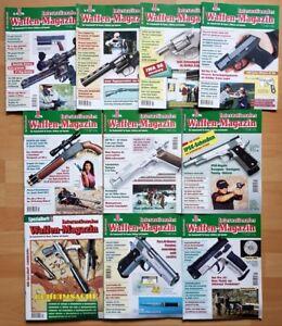 Waffenmagazin 1996 komplett Zeitschrift Pistolen Hefte internationales Jahrgang