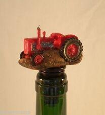 Tractor Wine Saver / Bottle Stopper / Novelty Cake Decoration + Gift Box