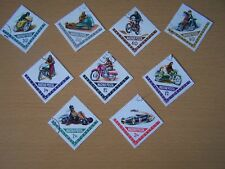 HUNGARY,1962,MOTOR CYCLE & CAR SPORTS,9 VALS COMPLETE SET,CTO,EXCELLENT.