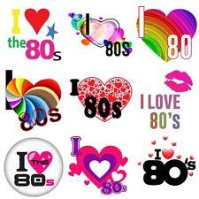 I Love The 80s vintage 80s Flash Back Iron On Heat T-Shirt Transfer 6021740 ®