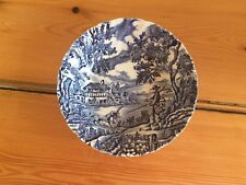 Vintage Myott The Hunter bowl in blue and white
