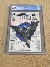 Detective Comics 0 CGC 9.2 White Pages (Classic Batman Cover)