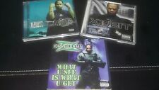 Xzibit-Lot of (3) CDs-EXPLICIT- Man vs Machine-Restless-What U See Is What U Get
