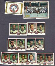 1979 Panini World Hockey Team Norway, Set of Ten
