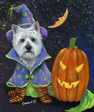 "Precious Pets Garden Flag - Westie Good Witch 12"" x 18"" ~ Charity!"
