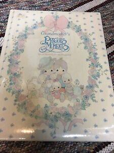 Grandmother's Precious Moments Memory Book Unused Keepsake Gift