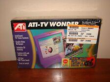 Vintage ATI-TV Wonder NTSC TV Tuner w/ Video Capture Card - NEW NOS