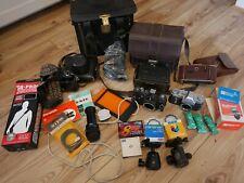 Joblot cameras voigtlander bergheil zenit truprint 35mm film Kowa safelight