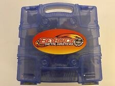 BEYBLADE METAL FUSION MASTERS LOT Parts Of 9 Beyblades w Case & Launchers
