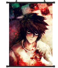 L Death Note Anime Dictionary Art Print Poster Picture Japanese Book Manga