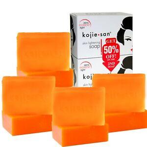 8 Bars of 135g Kojie San Skin Lightening Kojic Acid Soap - 4 Packs of 2 Bars