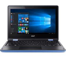 """Acer Sky Blue 11.6"""" TouchScreen Windows 10 Convertible Laptop WebCam WiFi HDMI"""