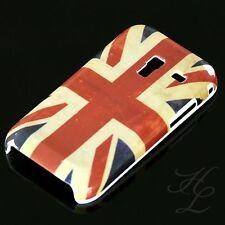 Samsung Galaxy Ace Plus S7500 Hard Case Hülle Motiv Etui England Flagge Vintage