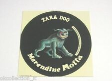 ADESIVO MERENDINE MOTTA GHOSTBUSTER anni '80 DOG / Old Sticker _ (cm 8 x 8) m3