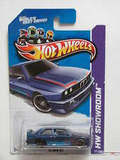 HOT WHEELS 2013 HW SHOWROOM - ALL STARS '92 BMW M3 WHEELS ERROR