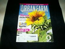 Urban Farm magazine, May/June 2014, 5th year anniversary issue,5 herbs for burbs