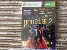 XBOX 360 YOOSTAR 2 KINECT IN THE MOVIES NEW & SEALED GAME