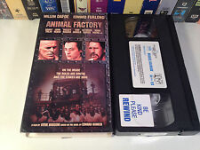 Animal Factory Rare Prison Drama VHS 2000 OOP HTF Defoe Furlong Trejo Buscemi