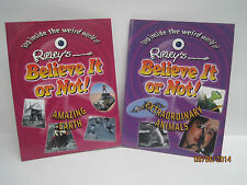 Ripley's Believe It Or Not! Books, Lot of 2 Books