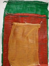 More details for strong net mesh woven sacks log vegetable kindling wood bags 3 sizes multi buy