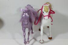Barbie Horses Mattel Blossom 2002/Vintage lady lovely locks Silky mane 1982 (12)