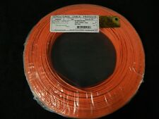 22 GAUGE 2 CONDUCTOR 200FT ORANGE ALARM WIRE STRANDED COPPER HOME SECURITY CABLE