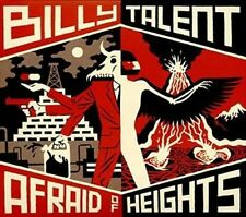 Billy Talent Afraid of Heights CD 2016 Ex/ex 825646034291