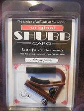 Shubb C5A Banjo Capo with Antique finish new in package NIB free Shipping