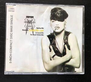 Madonna Promo Cd Australia Justify My Love