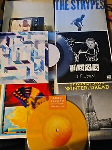 """50 × 7"""" VINYL RECORDS COLLECTION BUNDLE NEW SEALED/COLOURED/UNPLAYED! JOB LOT"""