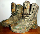Herman Survivors Thinsulate 800 Gram Camouflage Mens Boots Sz 8W Camo Real tree