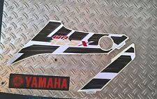 """YAMAHA WR 125 X """" étiquette Côté DROIT """" Blanc"""