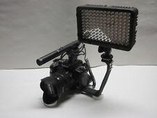 Pro S1R AZ SM-2L stereo mic LED light for Panasonic Lumix S1 S1R mirrorless