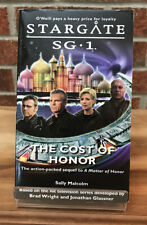 Stargate Sg-1 : The Cost Of Honor Sally Malcolm Paperback Book #5