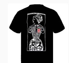 Troubled Coast Men's Open Heart t shirt Black  XLarge  NEW