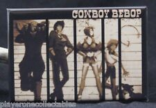 "Cowboy Bebop Movie Poster 2"" X 3"" Fridge / Locker Magnet. Japanese Anime"