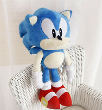 "New Sonic The Hedgehog Blue Sonic Jazwares Large 17"" Stuffed Plush Toy Doll"