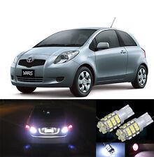 Premium LED Reverse Backup Light Bulbs for 2006 - 2011 Toyota Yaris T15 42SMD