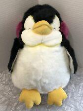Russ Berrie Plush Penguin Tux Daisy Chain Press Earmuffs