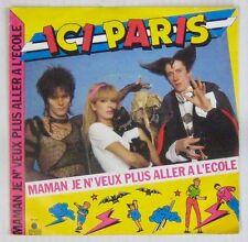 Anicée Alvina 45 Tours Ici Paris 1983