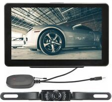 "7"" Car GPS Navigation System Wireless Backup Camera Reverse Rear View Bluetooth"