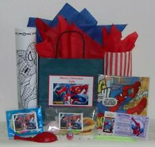 Spiderman Pre Filled Party Bag Personalised New