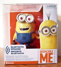 NEW iHome MINION RECHARGEABLE BLUETOOTH SPEAKER w/CHARGING CABLE - Ui-B66MB.FX