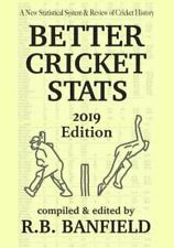 New listing Better Cricket Stats: 2019 Edition, Like New Used, Free shipping in the US